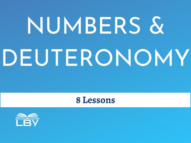 3. NUMBERS and DEUTERONOMY